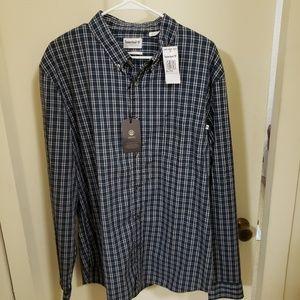 Timberland button down shirt